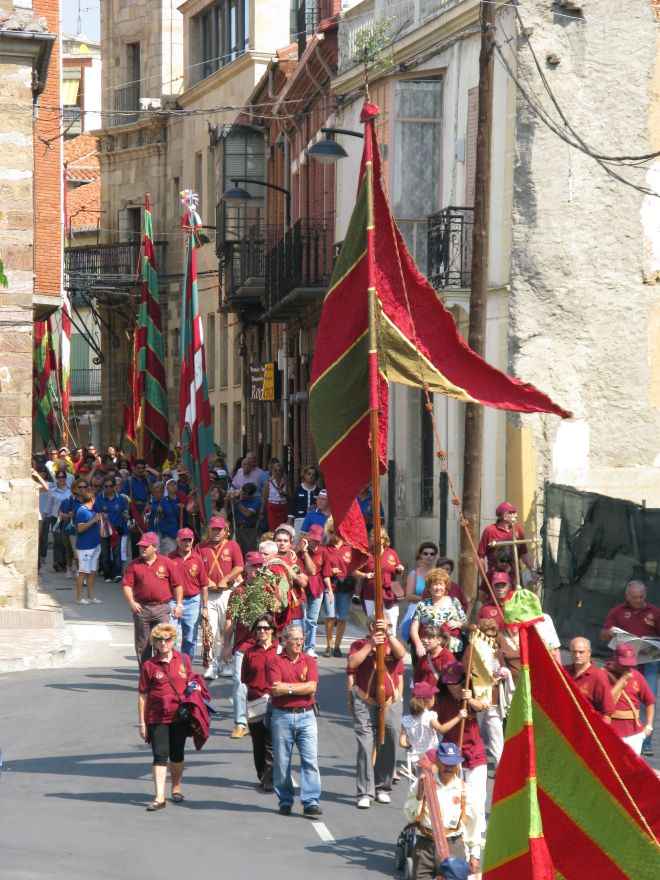 Umzug am Ruhetag in Astorga
