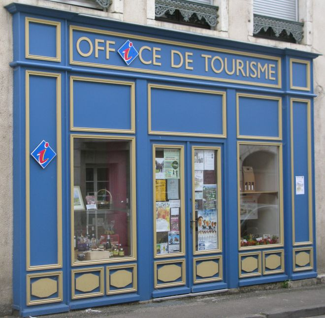 Das Office de Tourisme in Gy auf der Etappe Dampierre-sur-Salon → Gy